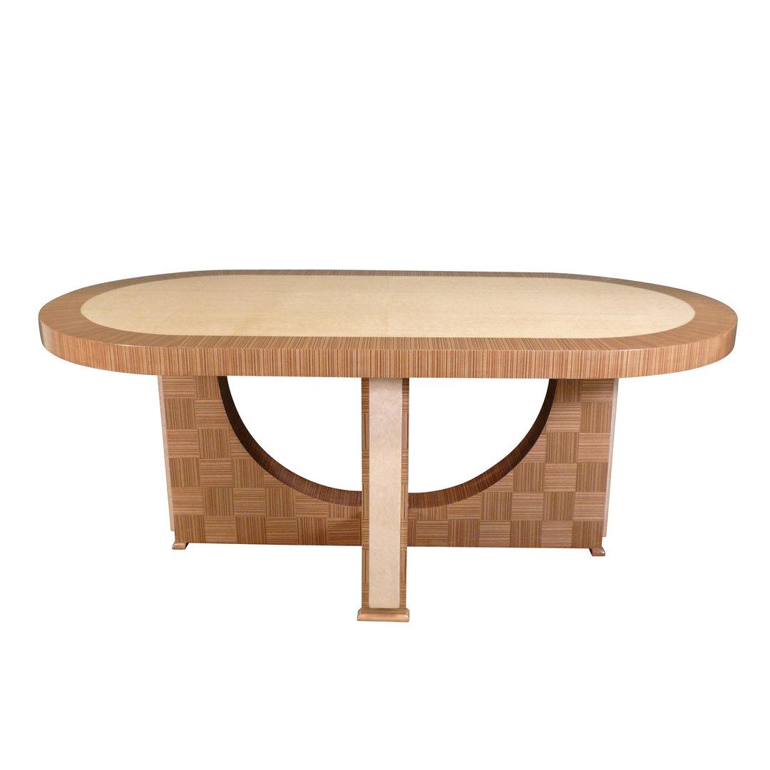 Mesa art deco muebles de sal n art deco for Table salon art deco