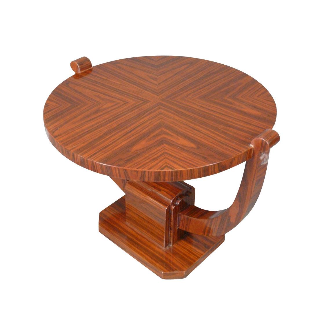 Table basse art d co orl ans de salon meuble d 39 art d coratif - Salon art de la table ...