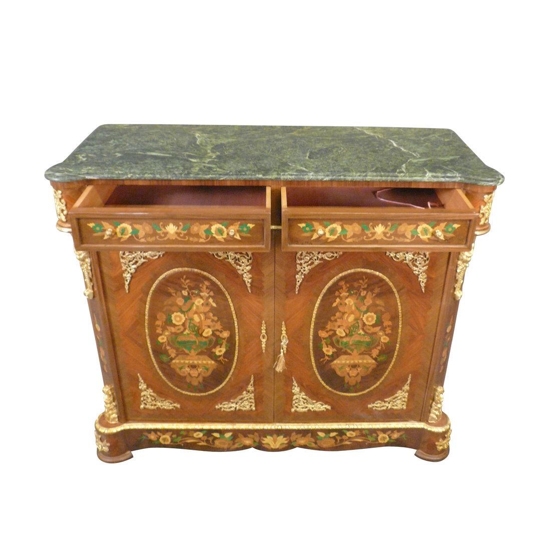 buffet napoleon iii in palisander empire furniture. Black Bedroom Furniture Sets. Home Design Ideas