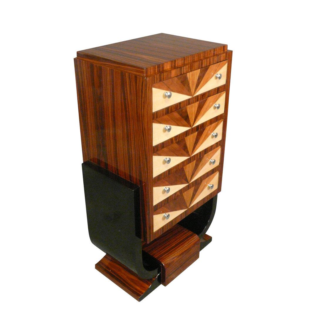 commode art d co avec d cor 1930 meubles art d co. Black Bedroom Furniture Sets. Home Design Ideas