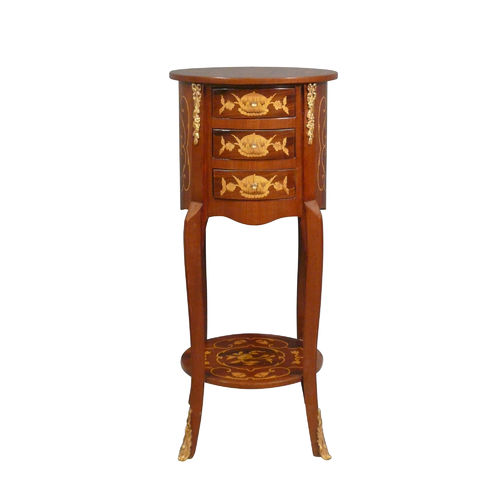 Small Louis XV commode round