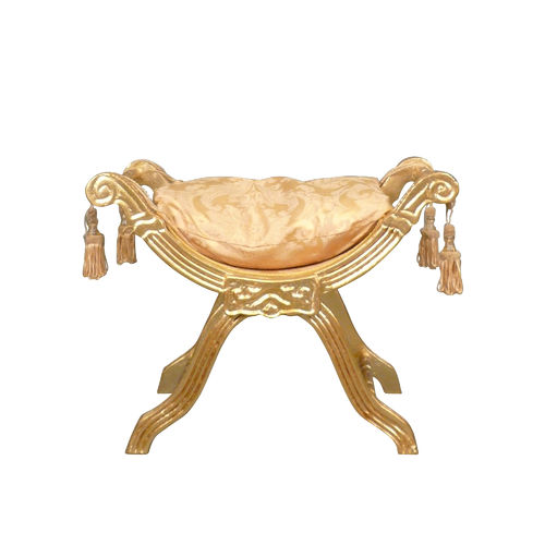 Golden Baroque Bench