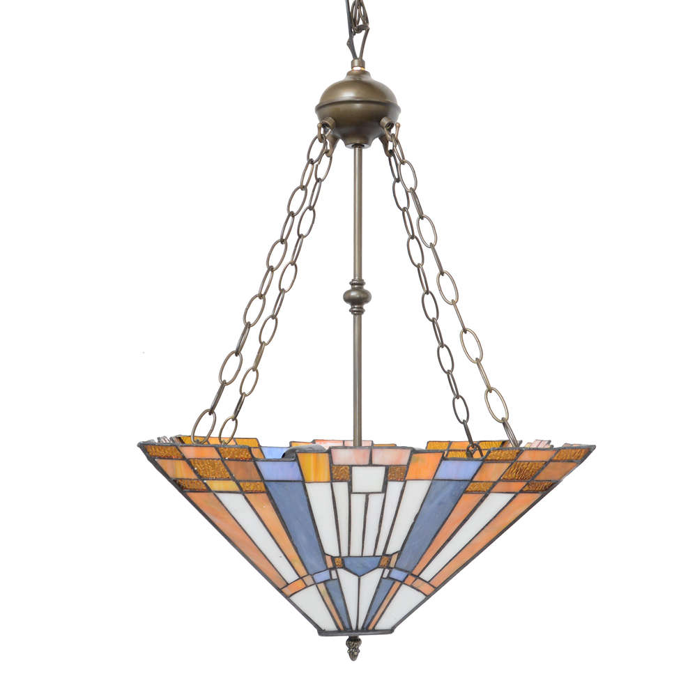 lustre style tiffany art déco - luminaires style 1920
