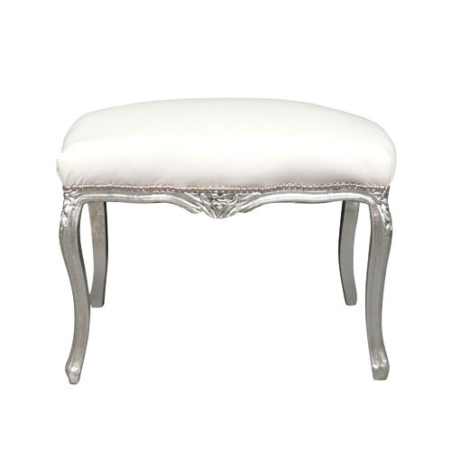 Baroque white bench