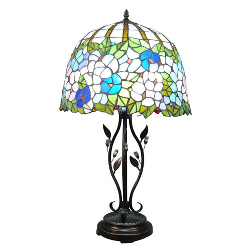 Tiffany lamp model Wisteria