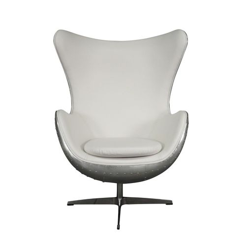 White aviator armchair