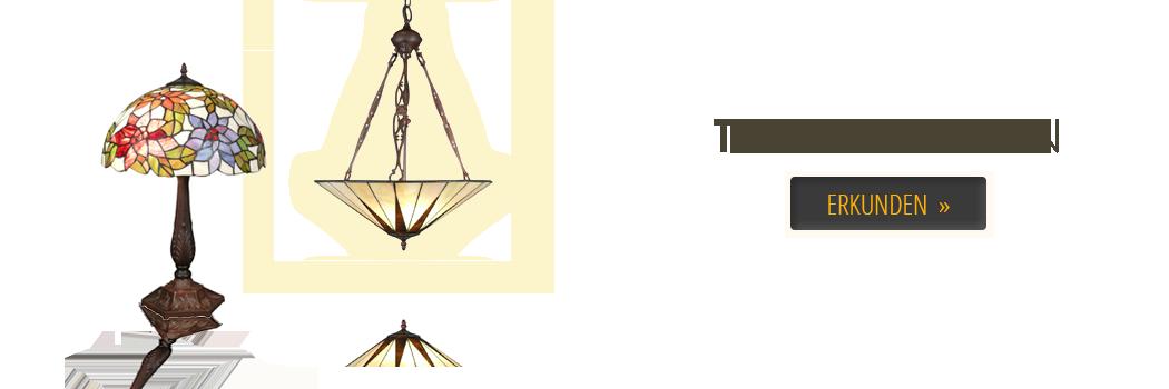 Art-Deco-Möbel - Tiffany-Lampe - Bronze-Statue - Barock Sessel