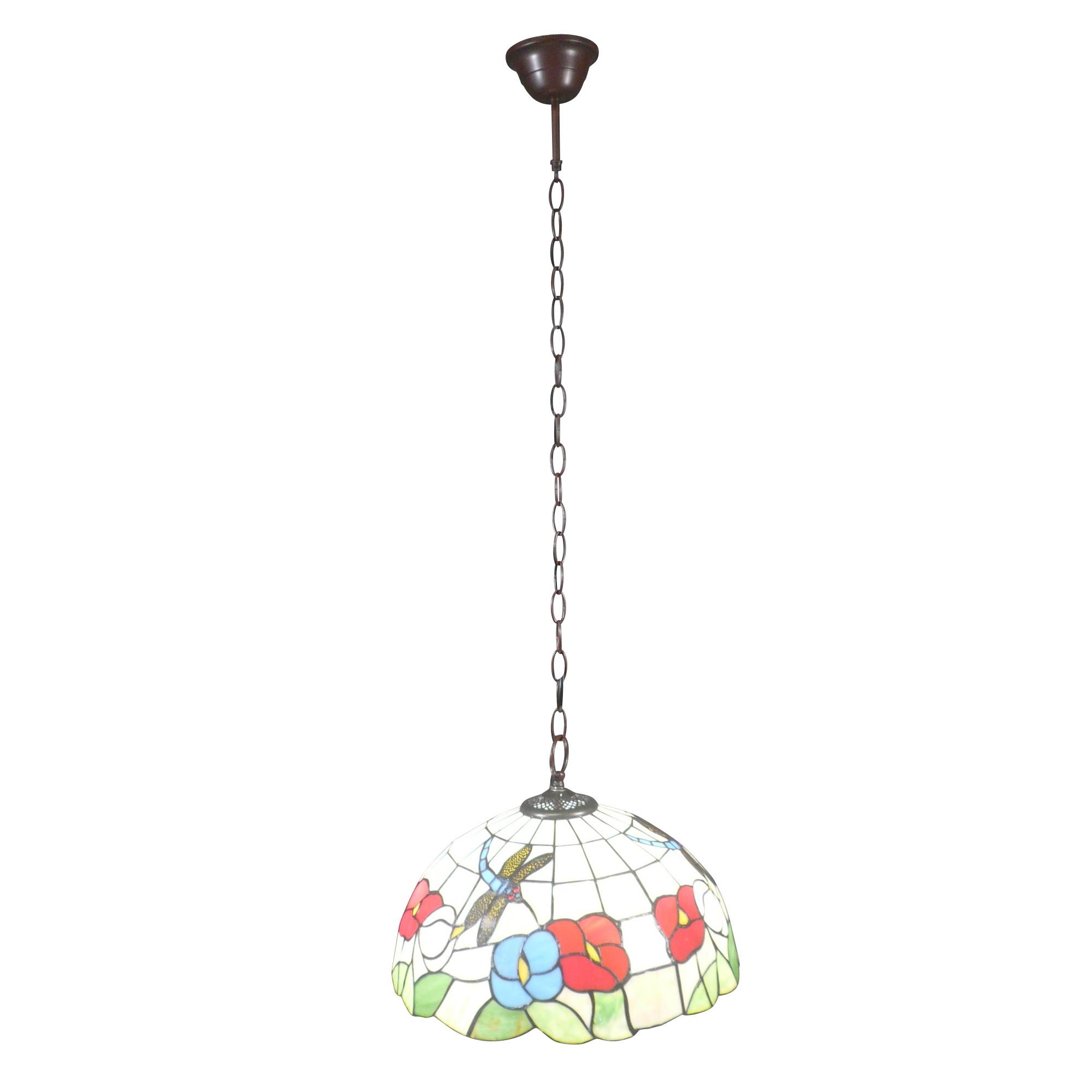 Für Die Beleuchtung Ihres Wohnzimmers Wird Dieser Tiffany Kronleuchter Ein  Nüchternes Licht Mit Weißem Hintergrund; Eine Tiffany Wandlampe ...